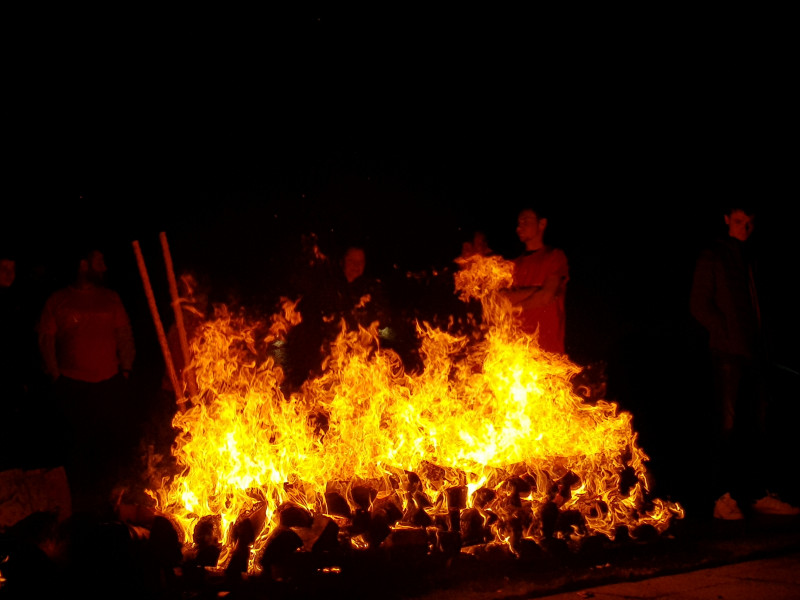 Firewalk for St. Vincent's Hospice