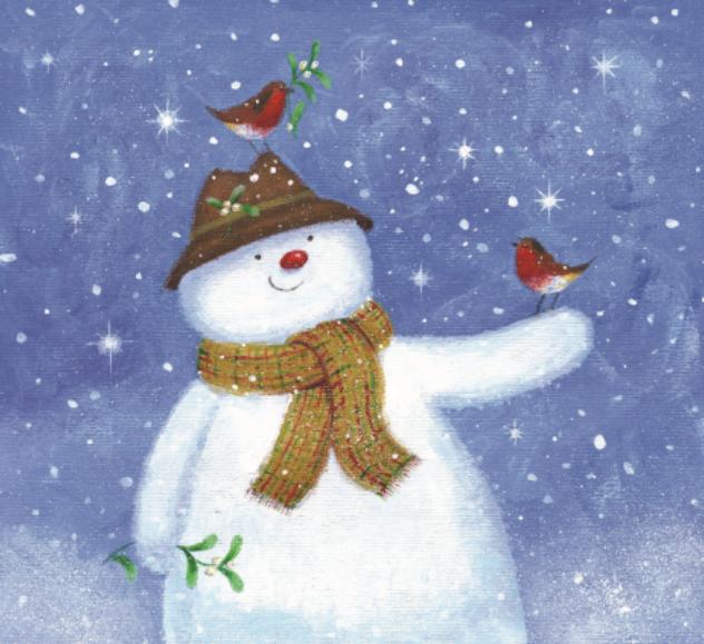Snowman Robin