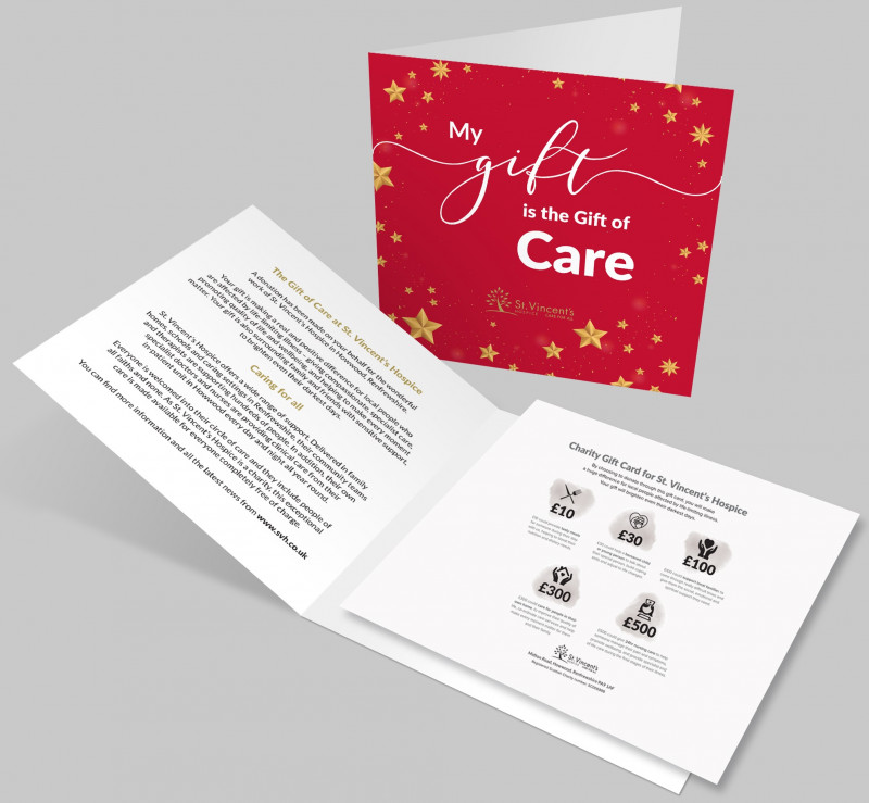 Stars Charity Gift Card £10