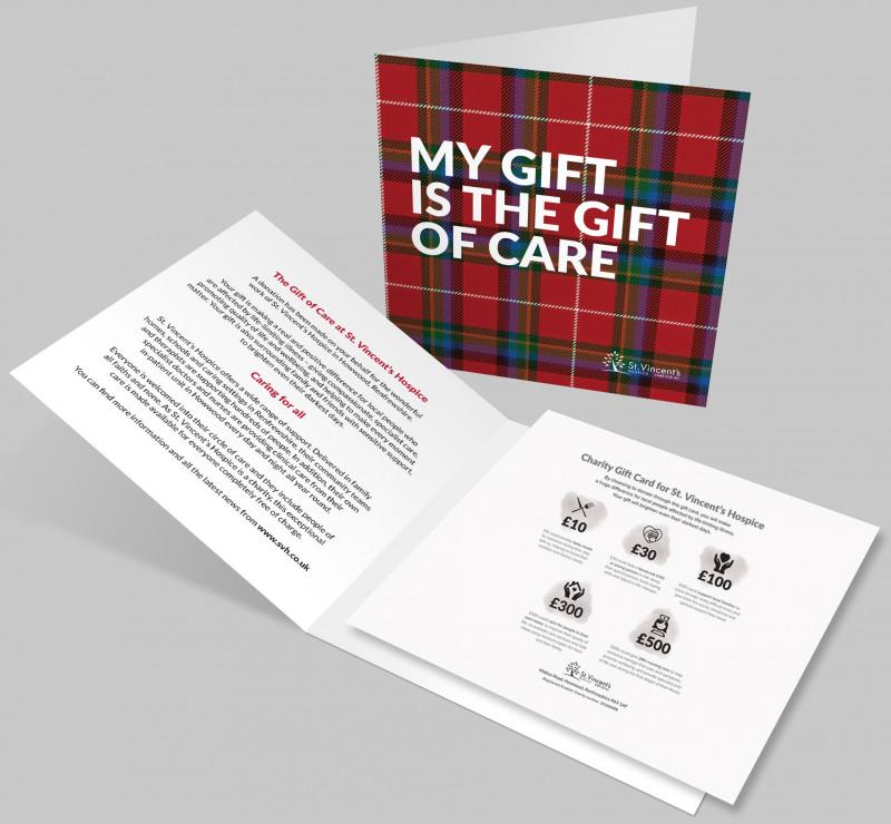 Tartan Charity Gift Card £100
